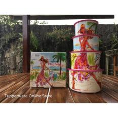 Tupperware Miss Belle Canister (4 Pcs) - 7Ba6ea