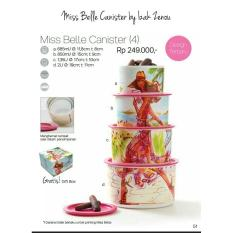 Tupperware Miss Belle Canister - 576De5