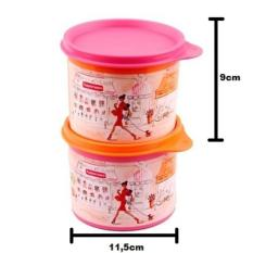 Tupperware Miss Belle Compact Canister Toples Kecil Lucu - 76Ad9e