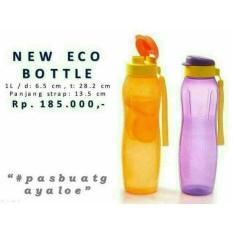 Tupperware New Eco Bottle 1L Slim Orange - 596Ecc