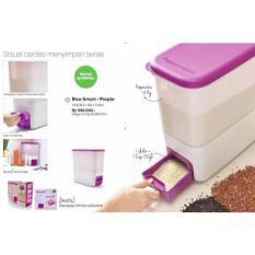 Tupperware Rice Smart Purple (Tempat Beras) - Ca3955