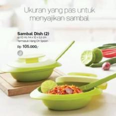 Promo Sambal Dish 2 Tempat Sambal Tupperware Brand