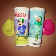 Tupperware Tumbler Indonesia MERDEKA Bhinneka Tunggal Ika Indonesian Tumbler