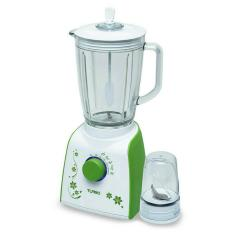 Turbo Blender Gelas Plastik + Dry Mill EHM 8099- Green