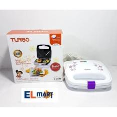 Turbo Sandwich Maker Ehl-1028/pemanggang Roti/panggangan Roti Sandwich By Elmart Depo Elektronik.
