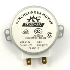 TYJ50-8A7 AC 220 V-240 V 4 Rpm 4 W CW/CCW Microwave Oven Turnable Synchronous Motor- INTL