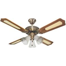 Uchida Ceiling Fan 42 inch Brass 3 Lampu - CF125EAB