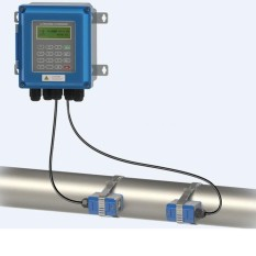Ultrasonic flow meter liquid flowmeter IP67 protection TUF2000B