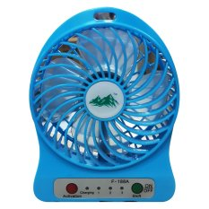 USB Mini Fan / Kipas Angin Rechargeable F-188 - Strong Wind