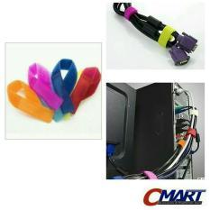 Velcro Cable ties 18cm Pengikat kabel tis tie 10pcs - ACC-CT-VL1802-10