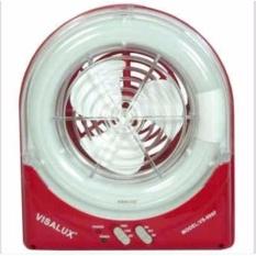 VISALUX VS-999F Lampu Emergency Dan Kipas Angin - Merah