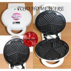 Waffel Maker- Panggangan Pembuat Waffel- Oxone Waffle Maker Ox-831 - 66Cabc