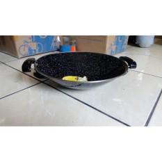 Wajan Enamel Marble Royal Wok Panda Maspion 40 Cm - B5E5C7