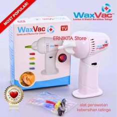 Diskon Wax Vac Kemasan Dus Free Bubble Electric Ear Wax Vacum Cleaner
