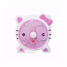 Welhome Kipas Fancy Karakter WH 170H 10 inch  Hello Kitty