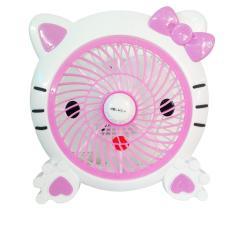 Welhome Kipas Angin Fancy Hello Kity Pink 10 inch