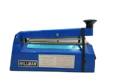 Beli Willman Impulse Hand Sealer Alat Press Plastik Fs 200 Biru Nyicil