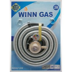 Jual Beli Winn Gas 28 Selang Flexible Winn 1 8 Meter Regulator Meter Di Dki Jakarta