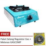 Spesifikasi Winn Gas Kompor Gas Stainless 1 Tungku Free Paket Selang Regulator Gas Comp