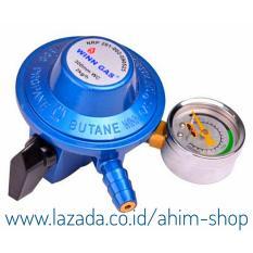 Winn Gas® W688M – SNI Regulator Gas LPG Tekanan Rendah + Meteran + GARANSI 1