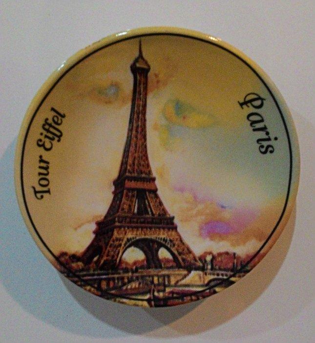 Price Checker ychateau Magnet Kulkas Piring Paris - Kuning pencari harga - Hanya Rp25.650