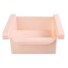 Yika Kulkas Portable Wadah Penyimpanan Holder Box (Pink)