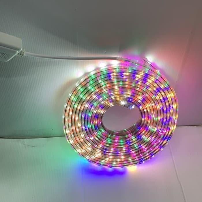 COD Lampu Led Strip RGB 2835 led Selang RGB Warna Warni 10 Meter Outdoor Sedia Juga Lampu hias led - Lampu hias kamar tidur huruf - Lampu hias gantung cafe - Lampu hias kamar tidur unik - Lampu hias untuk layangan
