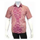 Spesifikasi Batik Solo Bo5022 Kemeja Batik Pria Motif Parang Merah Beserta Harganya