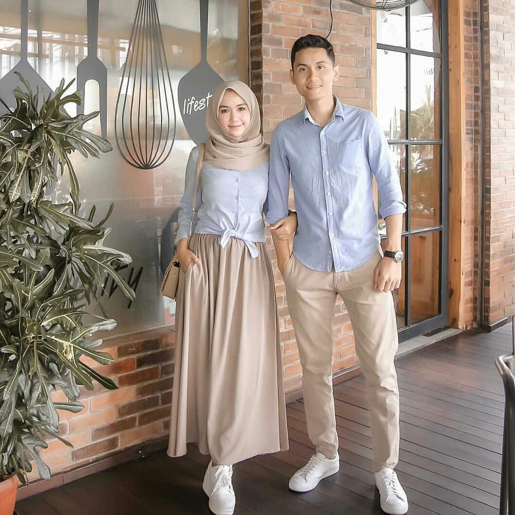 Baju Couple Wanita dan Pria Muslim Hijab Gamis Terbaru 2019 Modern Original  Koleksi MC ELEMENT COUPLE 0cce99ec9e