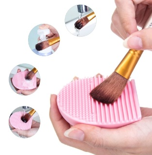 GKO Brush Egg Pembersih Kuas Makeup Tool Brush Cleanser Mini Pencuci Kuas Multiwarna Mekup COD Promo Murah Best Seller thumbnail