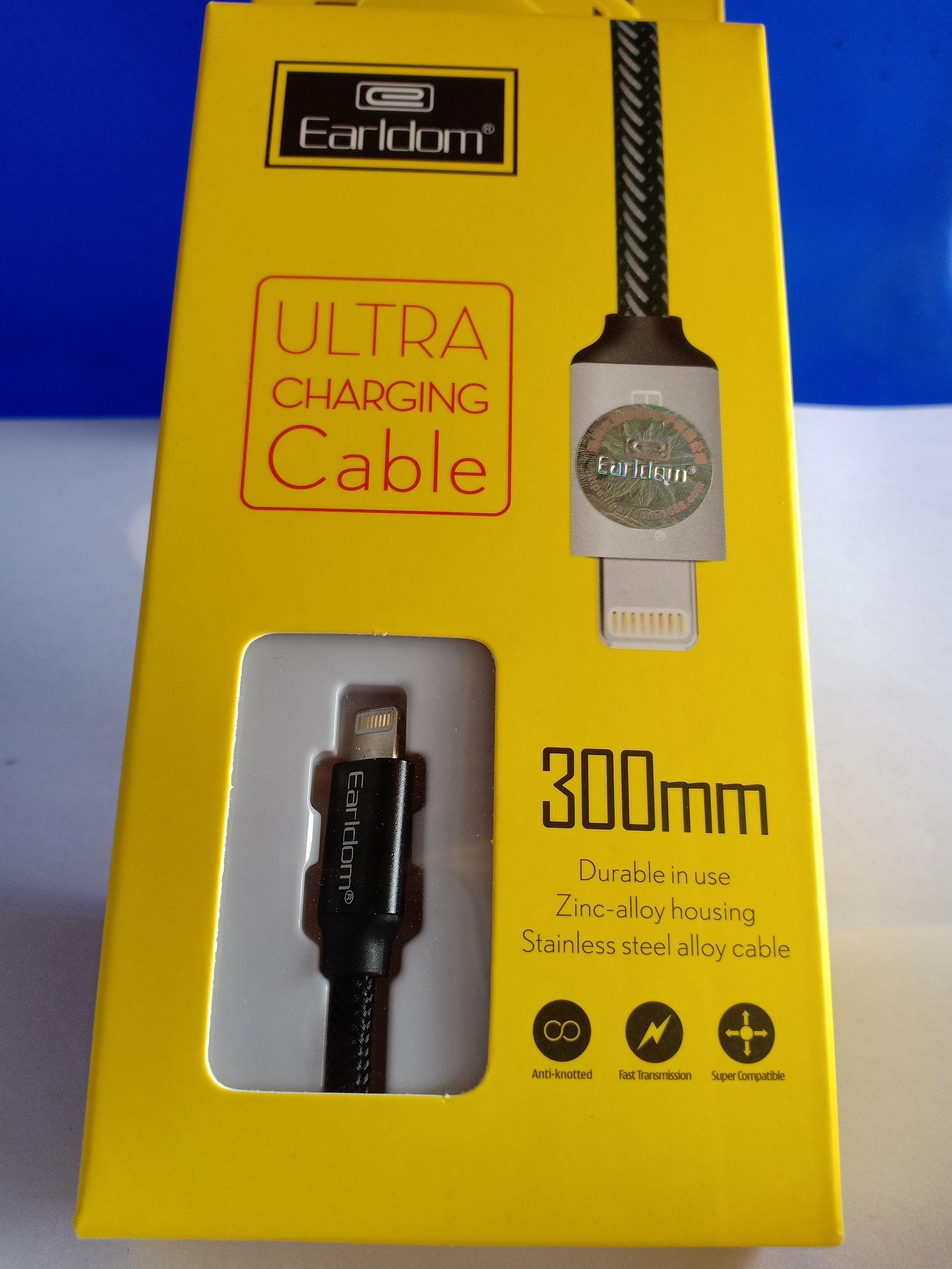Earldom Kabel Data Dan Charger Super Speed 1m Et G6 Iphone