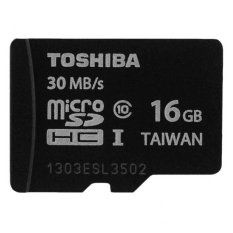 Jual Toshiba Micro Sd 16Gb Class 10 Uhs 1 Hitam Online