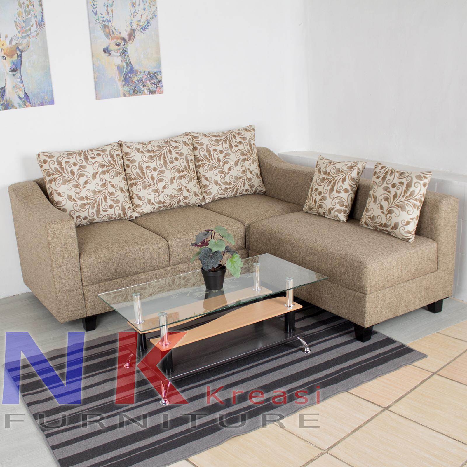 Sofa Kursi Ruang Tamu Minimalis Meja Tamu Lazada Indonesia Sofa ruang tamu kecil