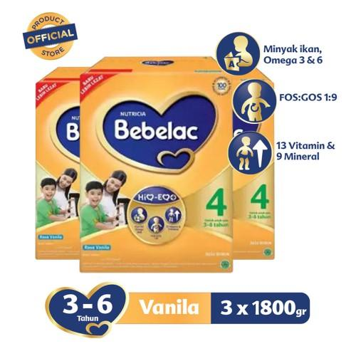Value Pack Bebelac 4 Vanila 1800 G By Apotek Online Farmaku.