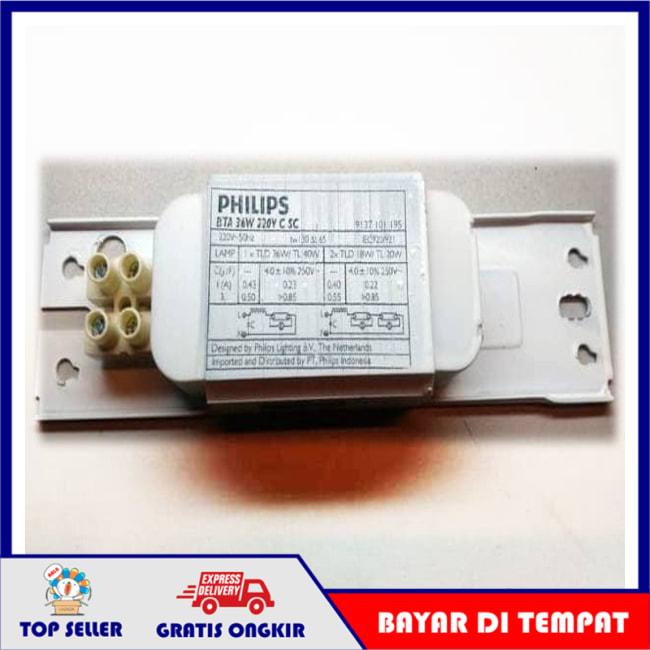 Trafo Lampu TL PHILIPS 36 W / 36 Watt / Trafo Neon Panjang BTA - Trafo
