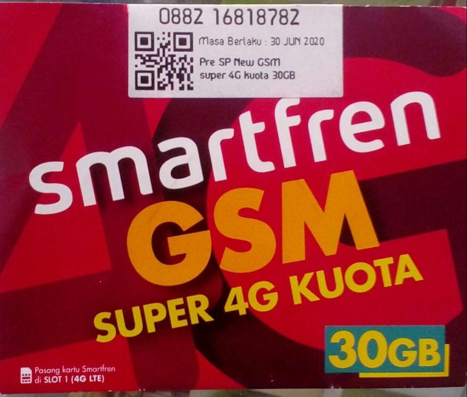 Jual Perdana Smartfren 30gb Kartu Smartfren 4g Murah Boossku Lazada Indonesia