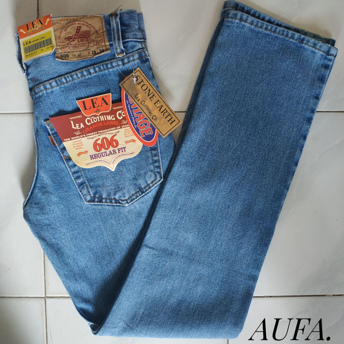 Celana Jeans Lea Levis Nevada Standar - Bioblitz