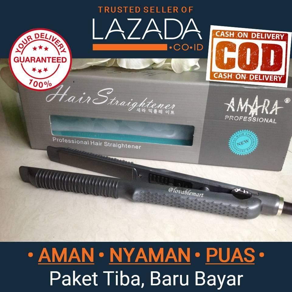 Catokan Rambut Amara 2in1 Professional Hair Straightener Catok Amara Hair  Styler -  Lovablemart 9c75887204