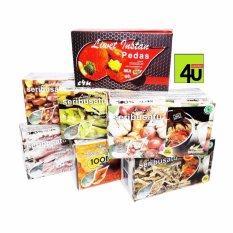 1001 Nasi Liwet Instan Paket 3 Kotak Jawa Barat Diskon 50