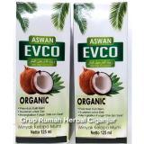 Jual 2 Botol Vco Aswan Evco Minyak Kelapa Murni 1 Botol Isi 125 Ml Original
