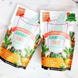2 Box Asi Booster Susu Almond Yummy S Almond Milk Powder Promo Beli 1 Gratis 1