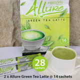 Harga 2 Packs Esprecielo Allure Green Tea Latte 28 Sachets X 24 Gram Esprecielo Ori