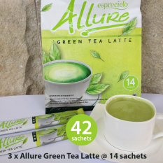 Harga 3 Packs Esprecielo Allure Green Tea Latte 42 Sachets X 24 Gram