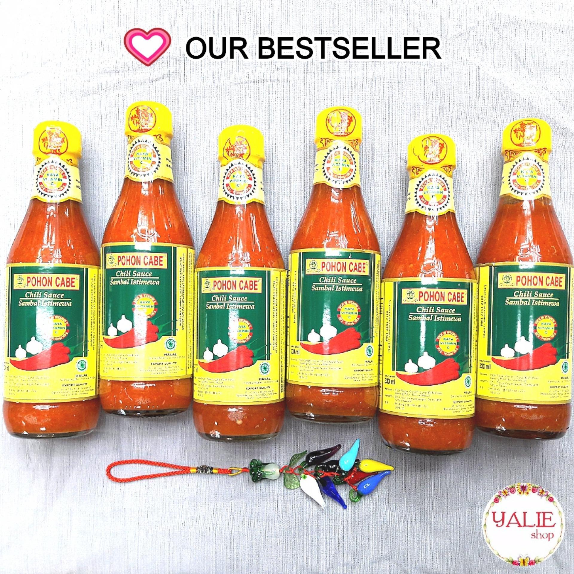 Mc Lewis Saus Cabe Ekstra Pedas Chilli Sauce Extra Hot 1 Kg Spec Saos Sambal Pohon 15669925 Source 330