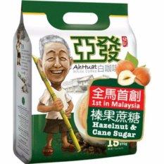 Ah Huat White Coffe Kacang Hazel & Gula Tebu - 15's 500 gr