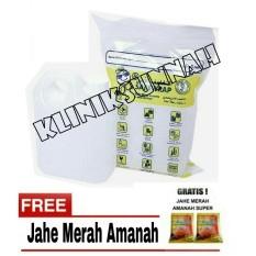 Ulasan Lengkap Tentang Air Zam Zam Water Safe Wrap 1 Liter Jahe Amanah