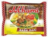 Review Alhami Mie Instan Rasa Sapi 60 Gram 40 Bungkus Karton