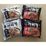 Jual Arirang Mi Instan 4 Packs Korea Style Mix 1 100 Halal Indonesia Mui Arirang Murah