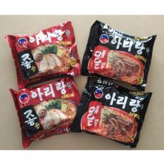Spek Arirang Mi Instan 4 Packs Korea Style Mix 2 100 Halal Indonesia Mui Arirang