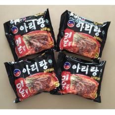 Daftar Harga Arirang Mi Instan 4 Packs Korea Style Super Pedas 100 Halal Indonesia Mui Arirang
